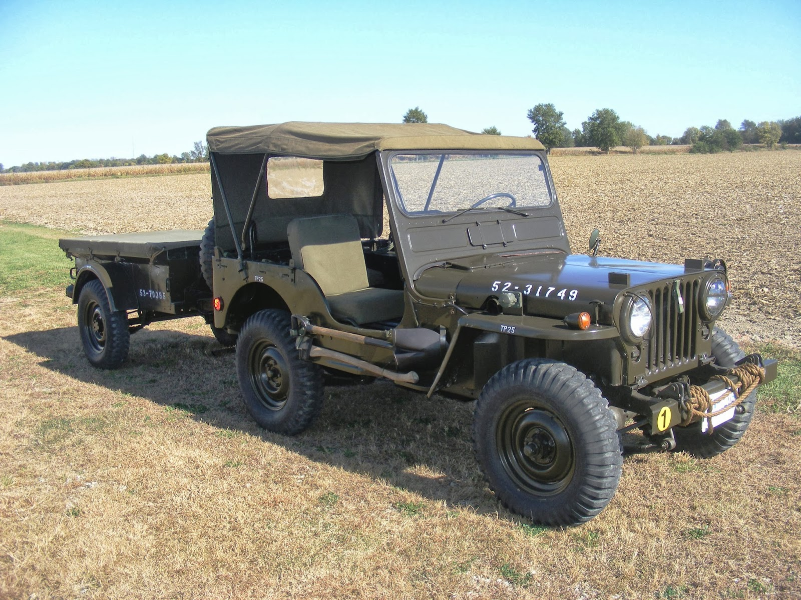 Browning Cal 30 - Page 2 1952+M38+Jeep+RF+View