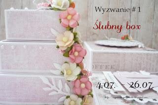 http://agnieszkapasjonata.blogspot.ie/2015/07/wyzwanie-blogowe-1-slubny-box.html
