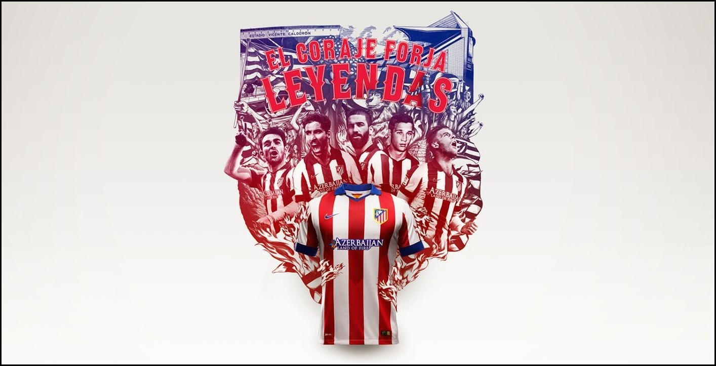 Atlético Madrid 2014 - 2015 Nike Home