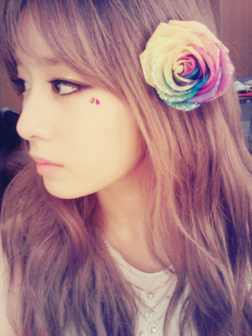 "Park Jiyeon ""The Flower GIRL"" Picture"