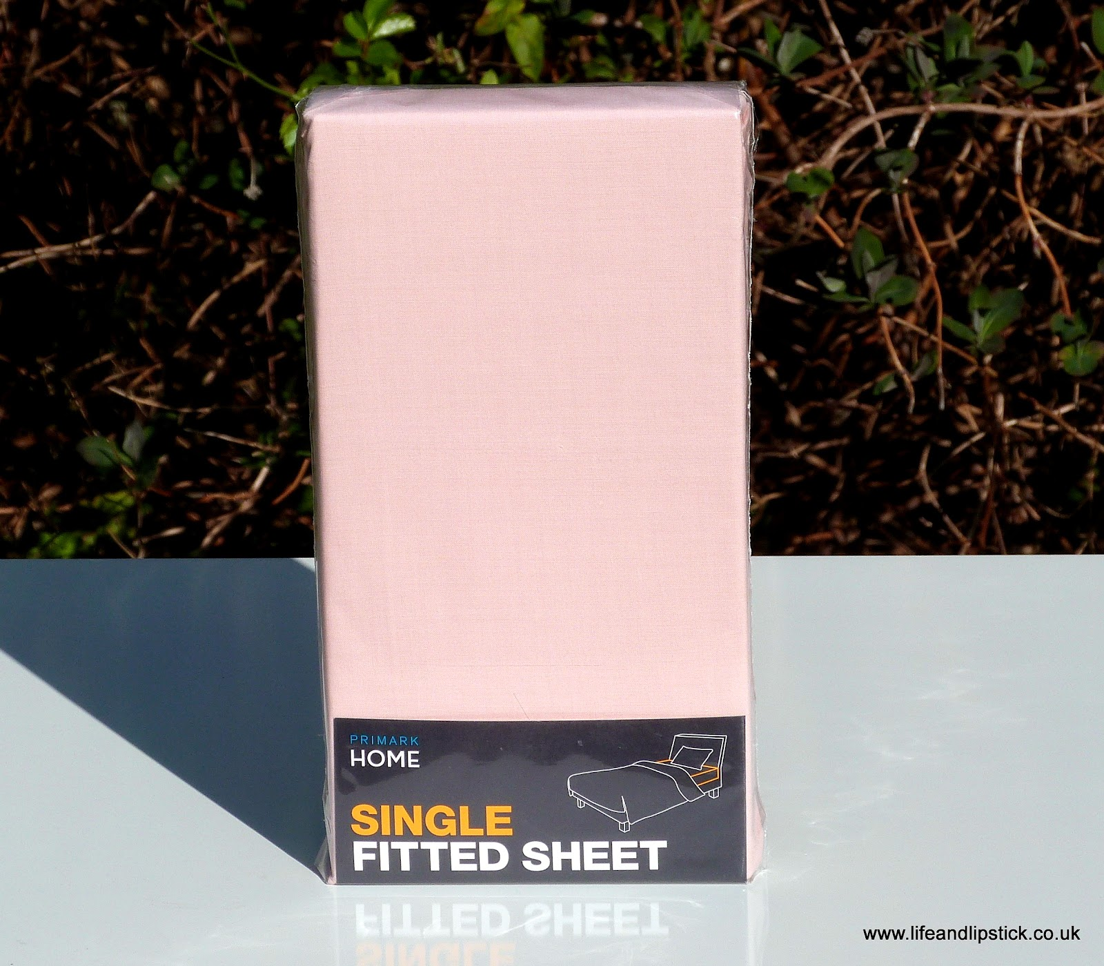 Primark Pink Single Fitted Sheet