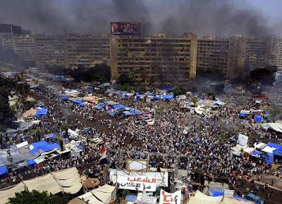 MASACRE EN EGIPTO: DISPERSION POLICIAL DEJA MAS DE 500 MUERTOS, 15 DE AGOSTO 2013