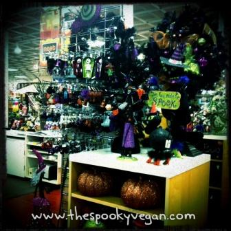 halloween trees and pumpkins - Pier 1 Halloween