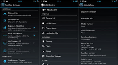 RootBox - CM/AOKP/PA mix - Android 4.2.2 For ZTE Crescent