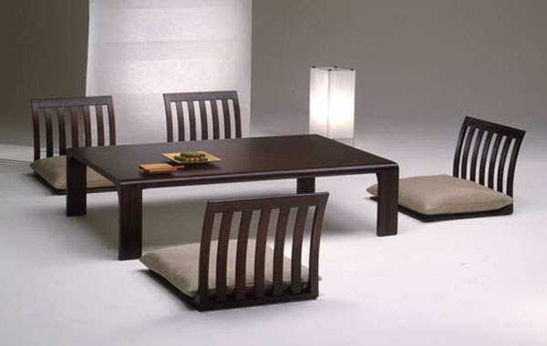 Desain rumah minimalis japanese style dining room for H o rose dining room