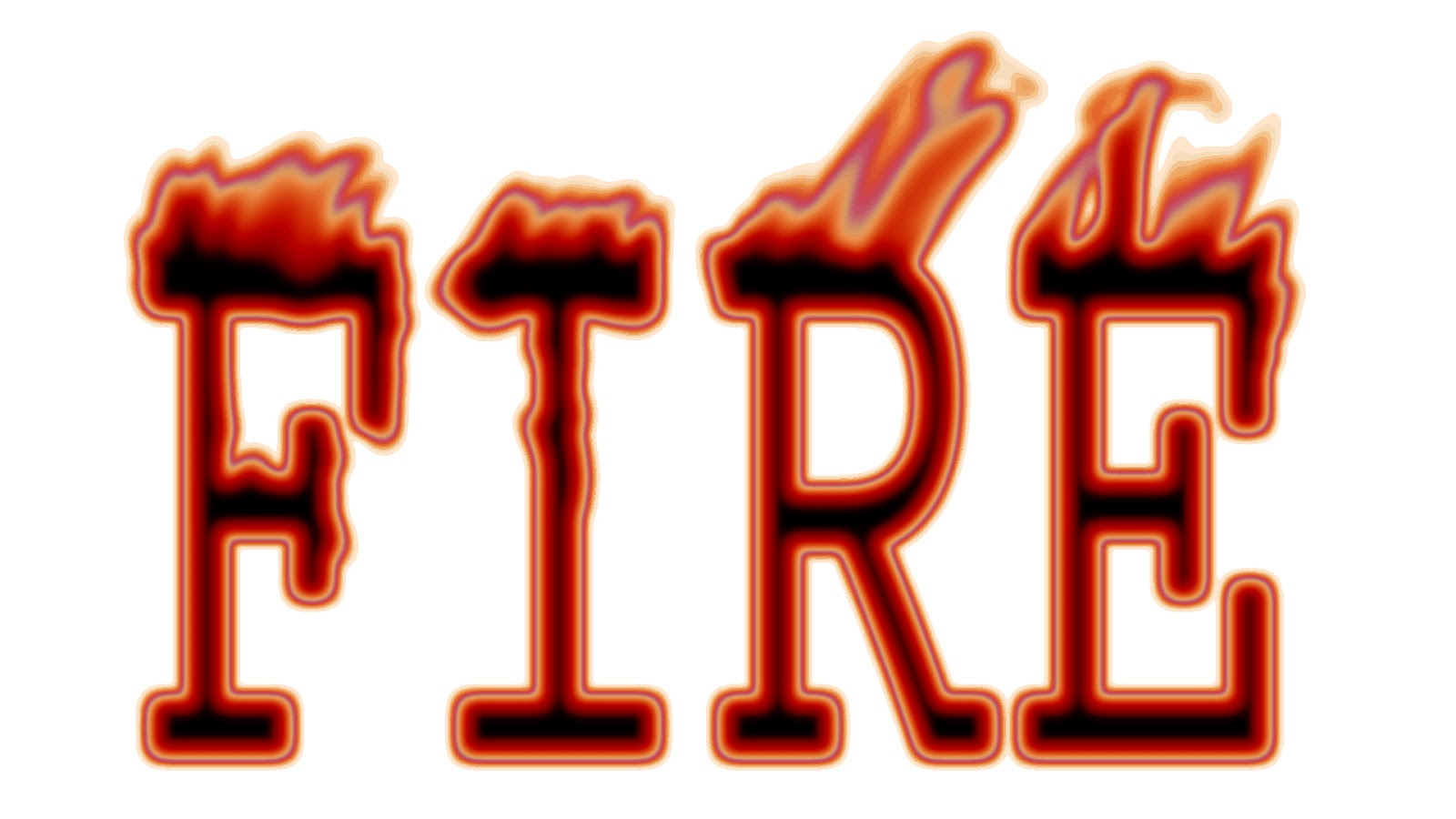 Burning Text on 2012 05 24