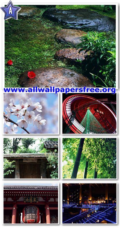 100 Beautiful Japan Views Wallpapers 1280 X 1024 [Set 6]