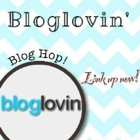 Bloglovin' Blog Hop Button