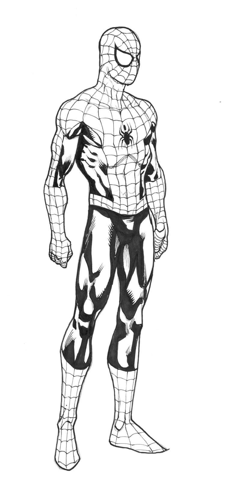 Robert atkins art december 2012 for Disegni da colorare spiderman 3