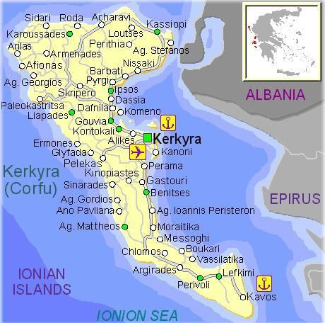 Friends of Corfu Corfu island Greece