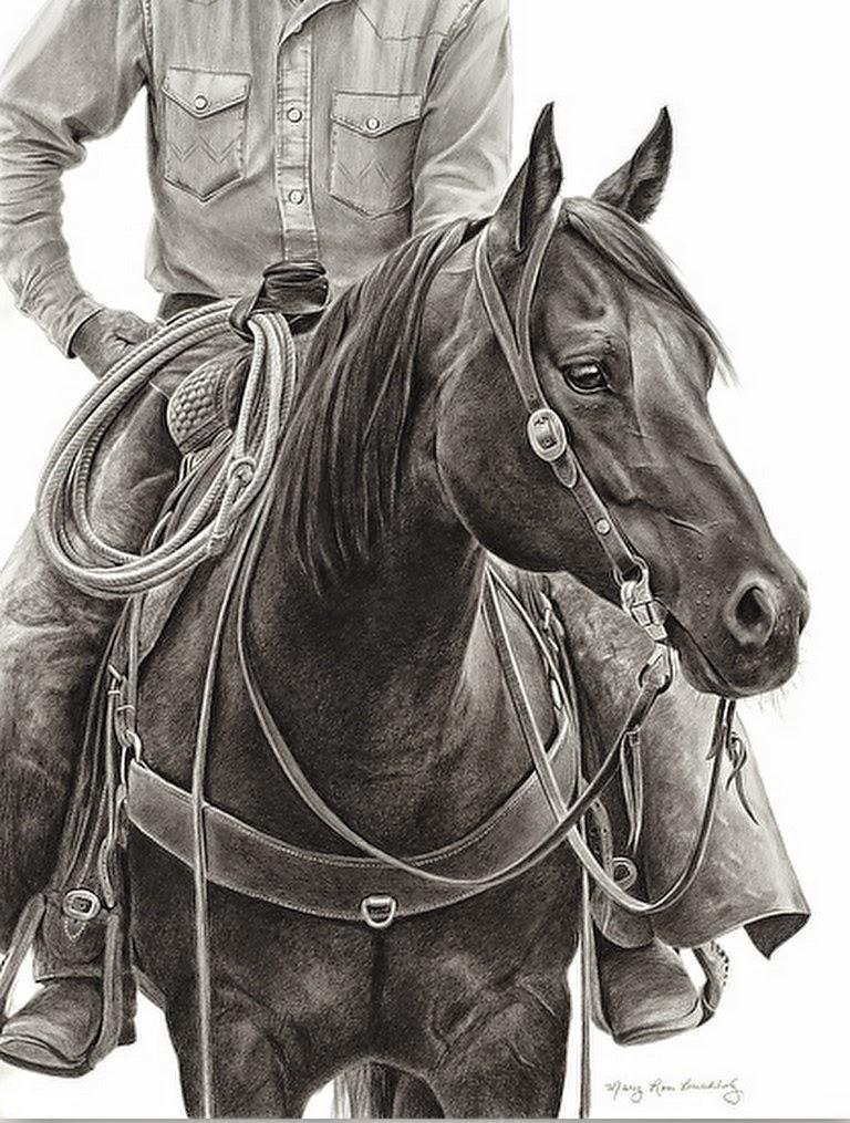 dibujos-de-caballos-realistas