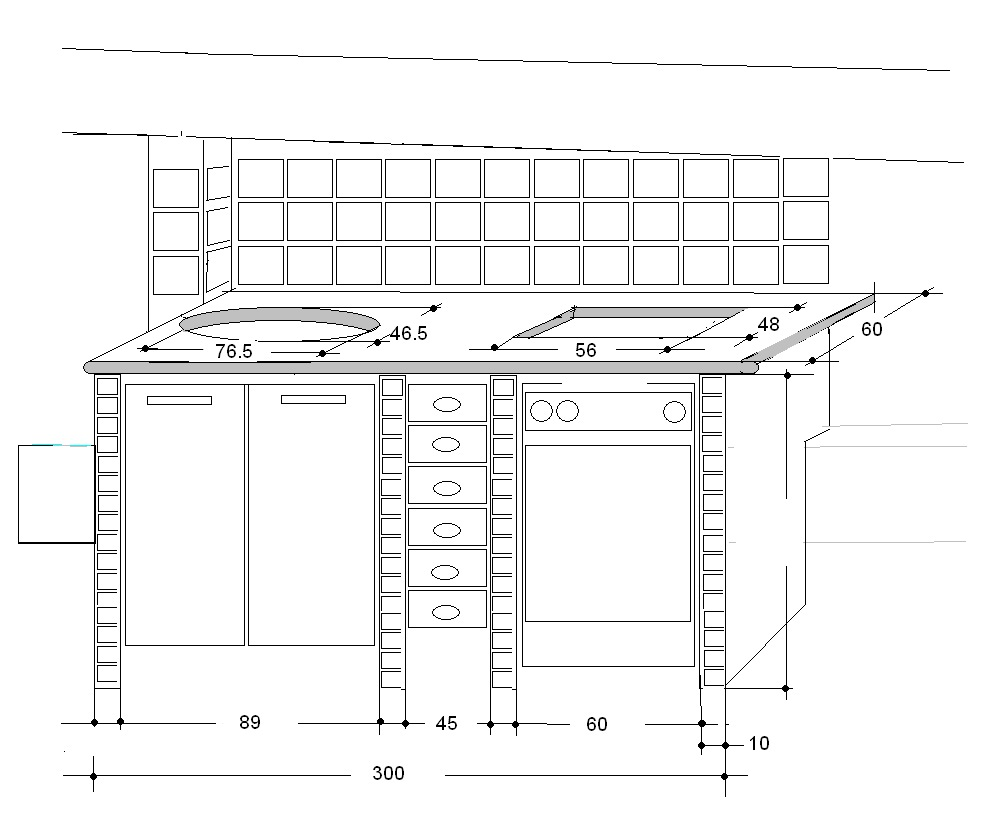 Best Disegnare Una Cucina In Muratura Gallery - Ideas & Design ...