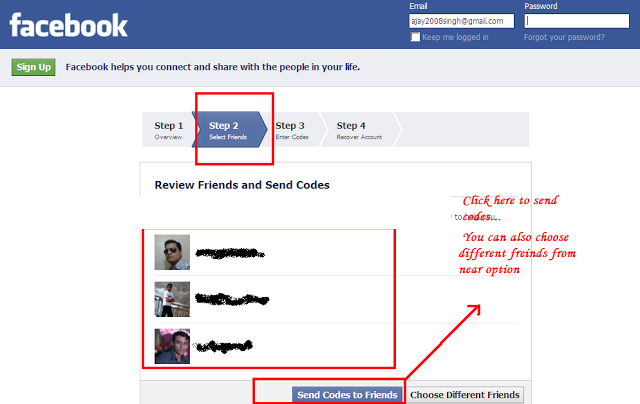Fake facebook Hack password