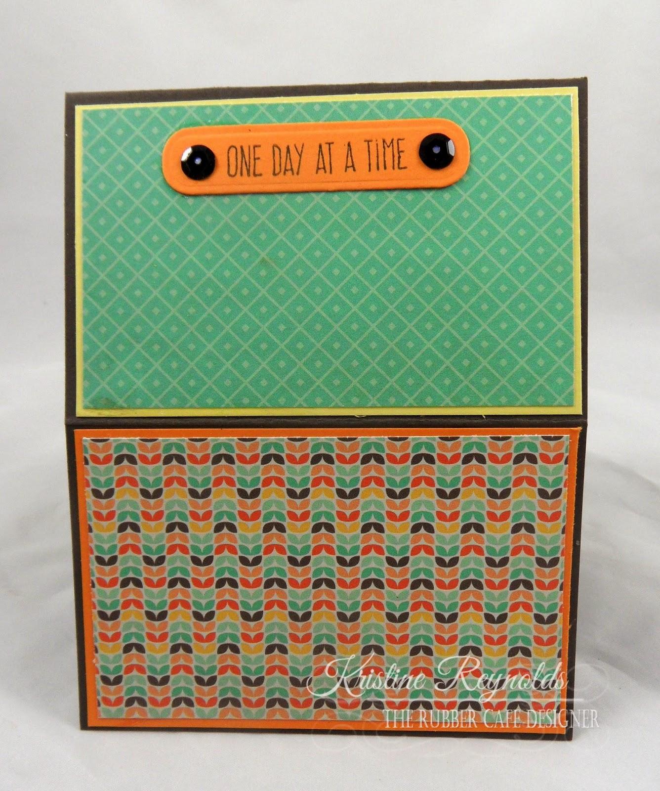 the rubber cafe design team blog: easel shaker card