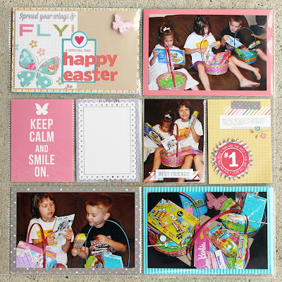 Easter_Project Life_Scrapbook Layout