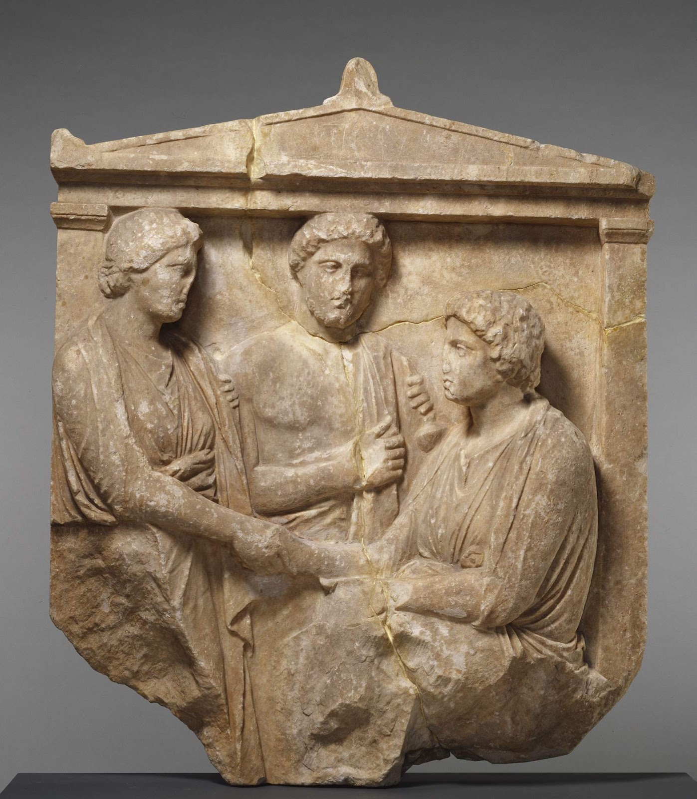 an examination of greek grave steles During the classical period, the greeks became the first ancient culture to  represent children  provides a thorough examination of the 106 roman  funerary attic reliefs  80 is a stele with solely the feet of the central figure.