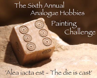 The 6th Annual Analogue Painting Challenge