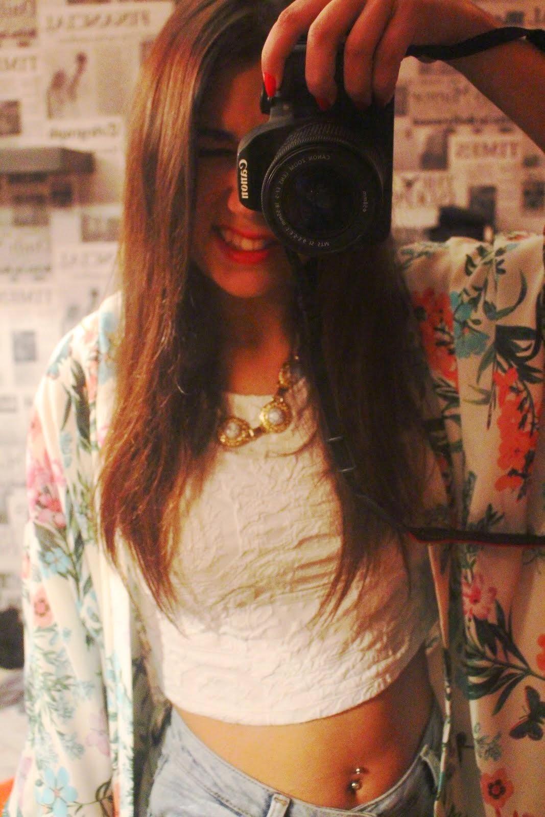 Sorri para a vida.