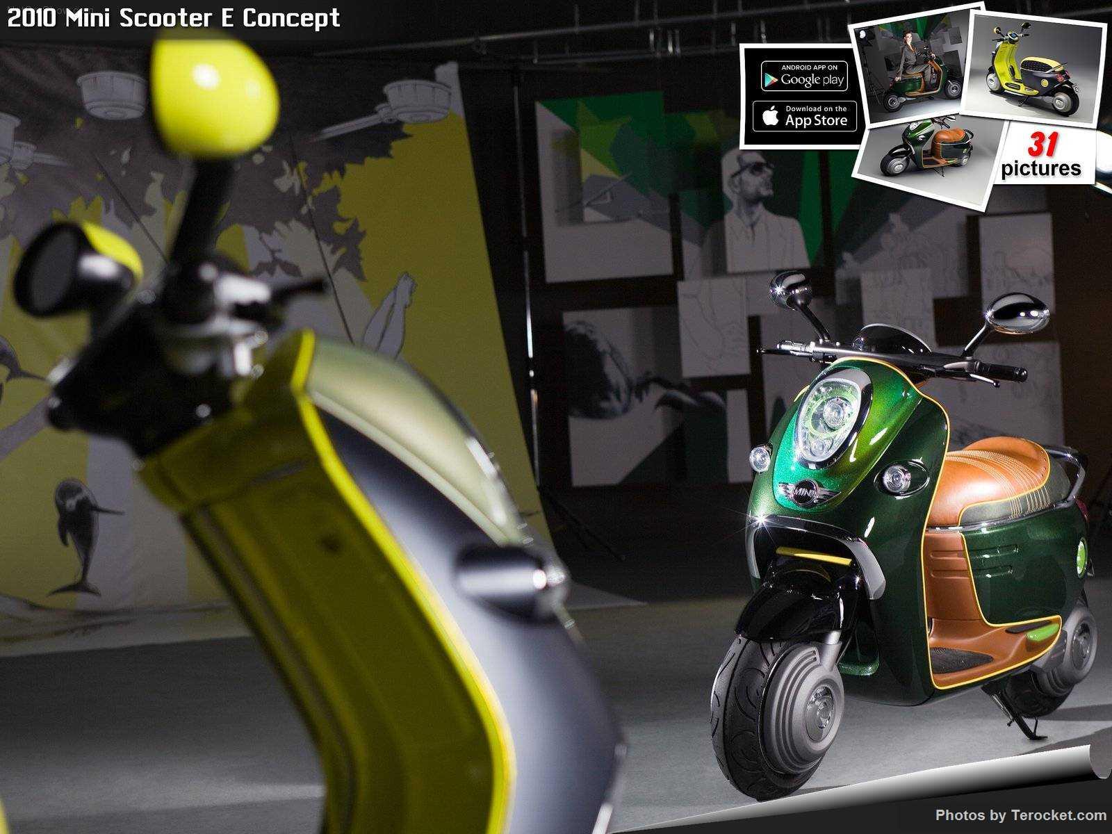 Hình ảnh xe ô tô Mini Scooter E Concept 2010 & nội ngoại thất