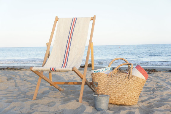 Sling Chair On Beach