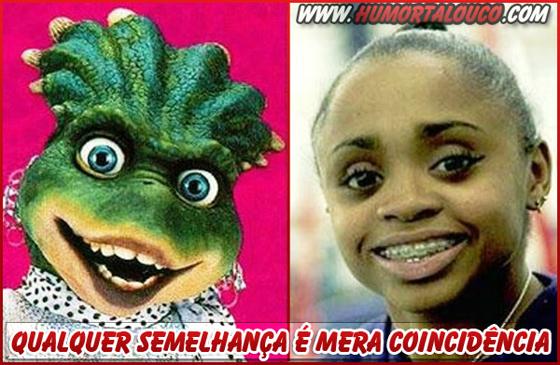 Qualquer semelhança é mera coincidência - Dayane Dos Santos-Dinosauro