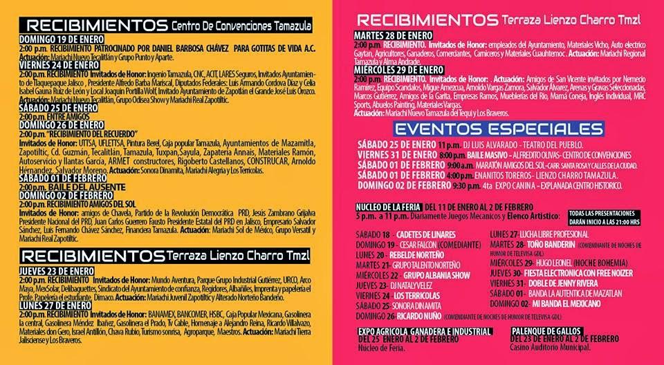 Cadetes de Linares FEria Tamazula 2014