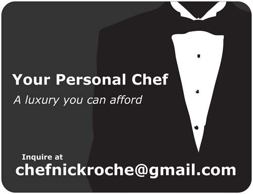 Personal chef business cards selol ink personal chef business cards colourmoves