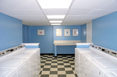 the laundry room where i live is actually nicer than this