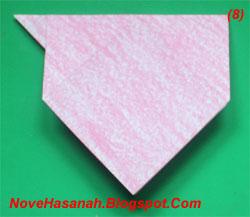 origami anak anjing untuk SD