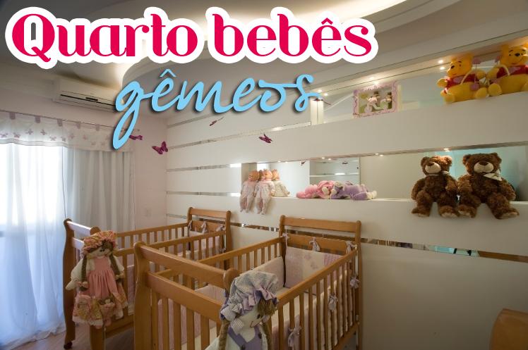 Quartos de bebês gêmeos – veja 20 modelos lindos + dicas!  Decor Salteado