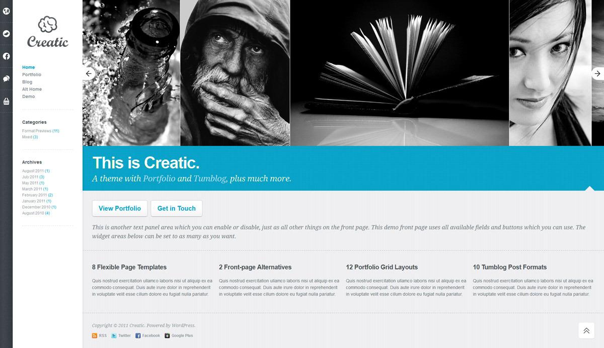 Creatic-Portfolio-WordPress-Premium-Templates