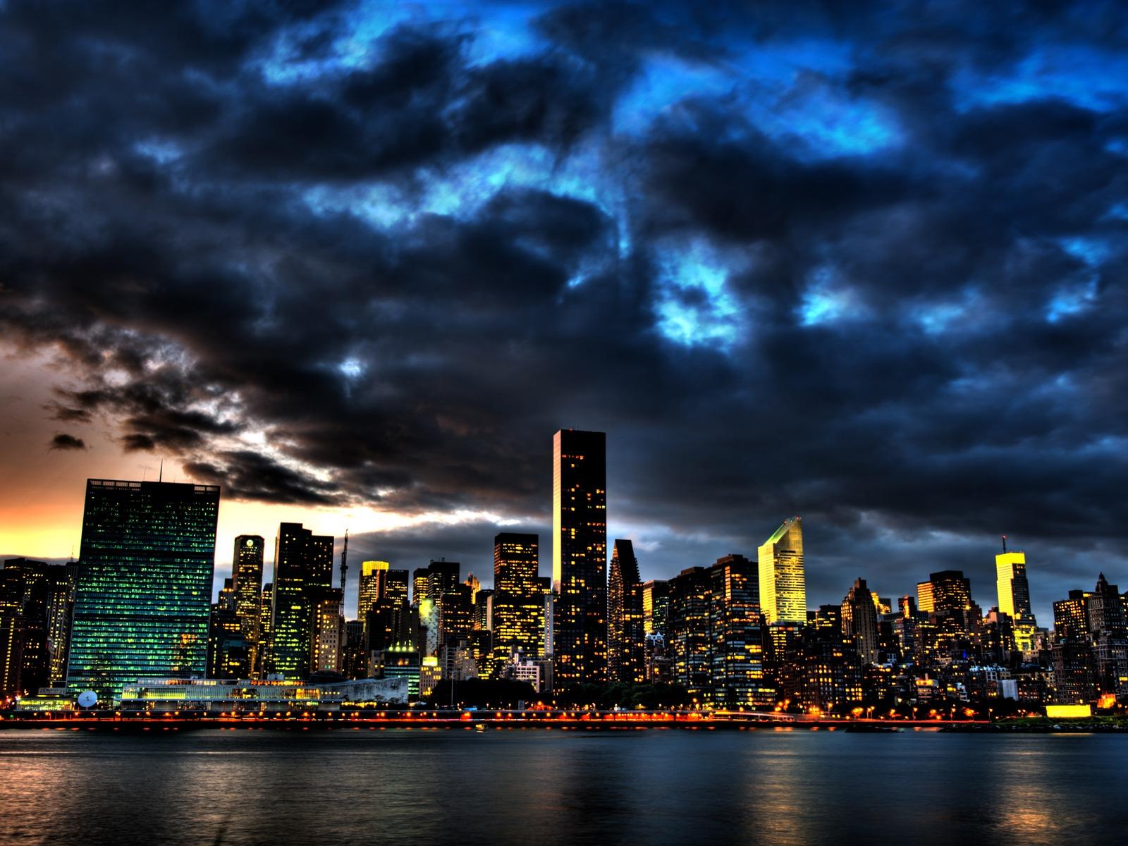 World city night album 7 funjunktion - Skyline night wallpaper ...