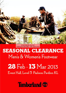 Timberland Seasonal Clearance Sale 2013