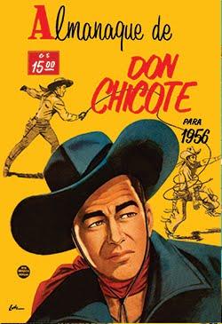 ALMANAQUE DON CHICOTE 1956
