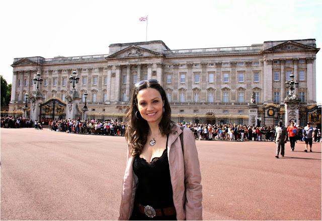 Palácio de Buckingham no verão