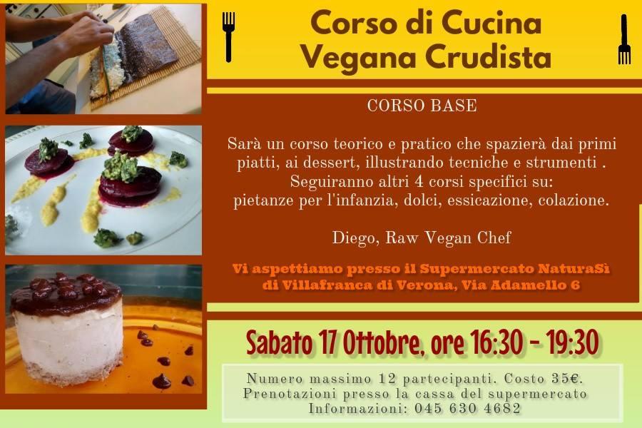 corso di cucina vegana crudista a villafranca vr il 17102015
