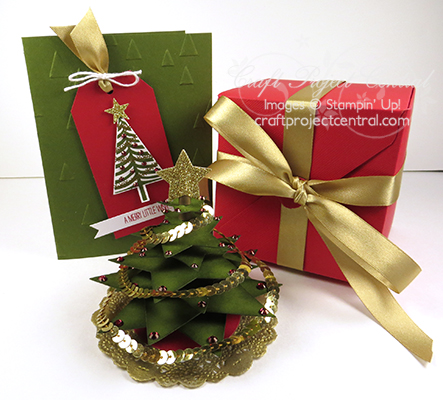 christmas tree in an exploding box gift set - Christmas Tree In A Box