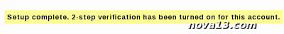 2 Step Verifikasi Untuk Keamanan Email Blogger, Google