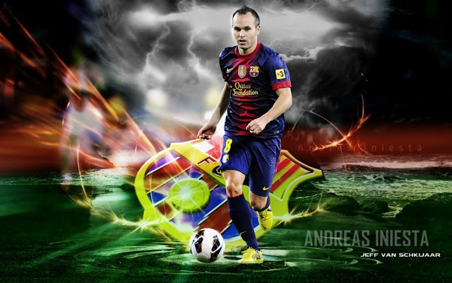 Andres Iniesta Wallpapers HD Fc Barcelone