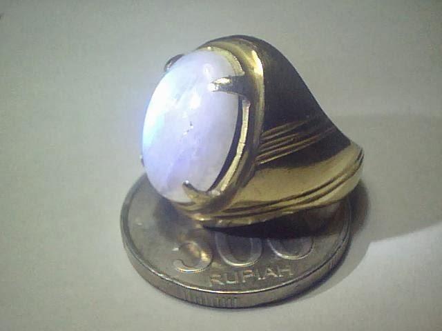 cincin biduri bulan ring kuningan dimensi 1 7x1 2x0 4cm ring kuningan ...