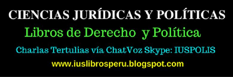 LIBROS D DERECHO PERÚ