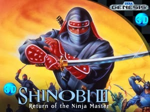 3DS eShop Shinobi III Return of the Ninja Master