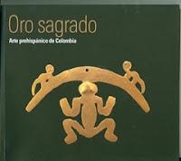 Portada del libro Arte prehispanico de Colombia