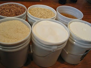 Whole Grains, Food Storage Fanatic, Food Storage Information, Ways to Store Food Storage, how to store your whole grains, how to use your whole grains in your food storage, wheat, Deals to Meals