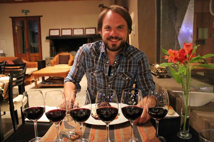 Middag og vinsmaking på en gammel bodega