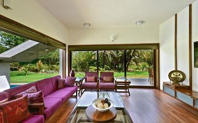 Desain Interior Colorful Desain Rumah Minimalis 1 Lantai yang Indah