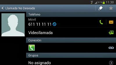 Rechazar llamadas automaticamente en Android