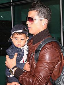 Cristiano: «Le dedique los dos goles a mi hijo»