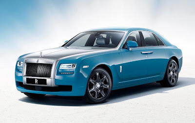 Rolls-Royce Ghost Alpine Trial Centenary Collection (2013) Front Side