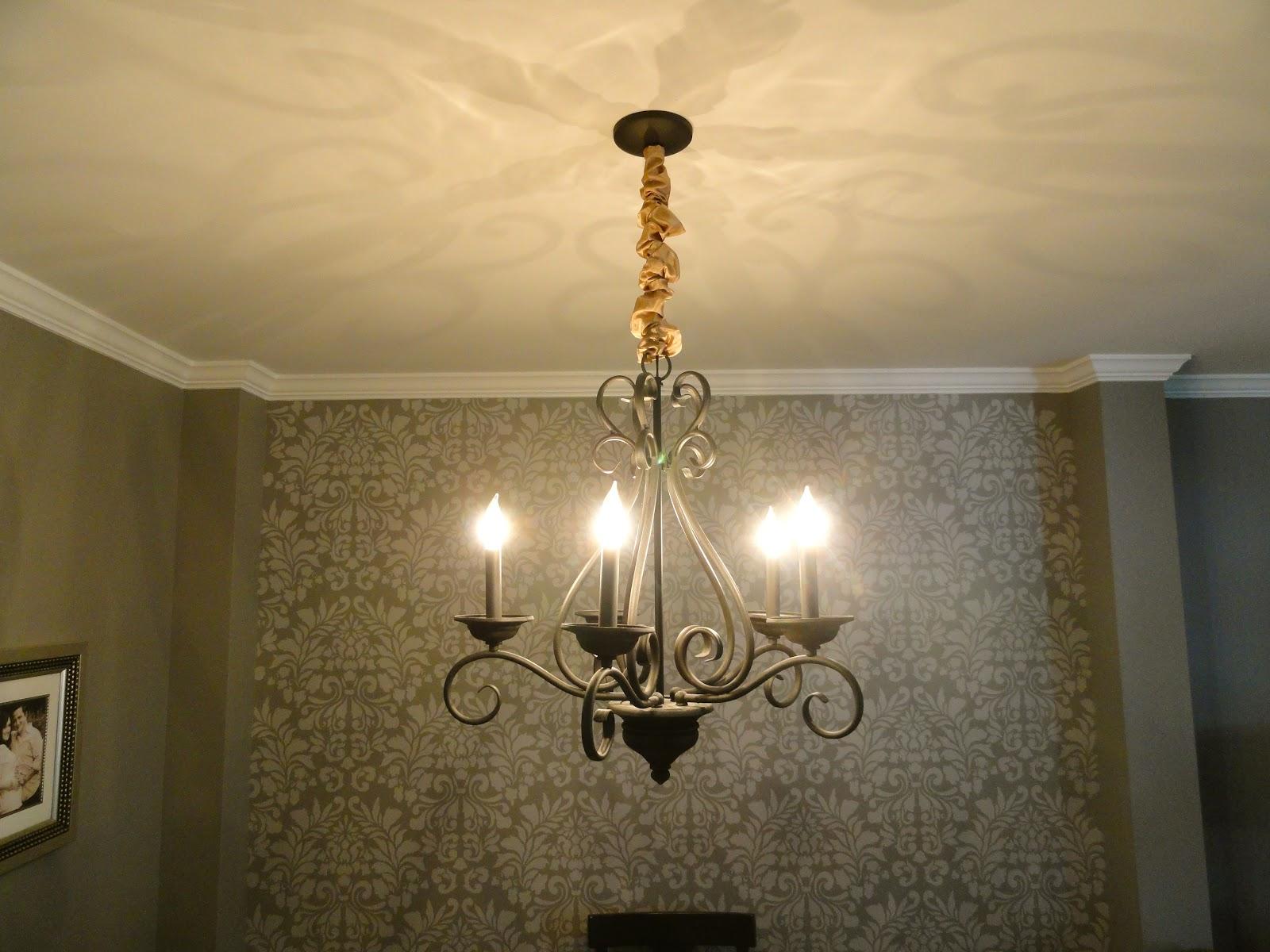 Rachels nest diy chandelier chain cover aloadofball Images
